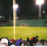 The Green Monster before the added seating