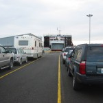 Boarding ferry for Victoria, BC in Port Angeles, WA