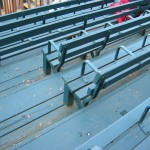 Armrests courtesy of Seattle's Sicks Stadium demolished in 1979